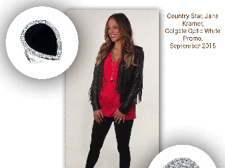 Jana Kramer, Country Star, Favors Sylvie's Unique Diamond Fashion Rings!