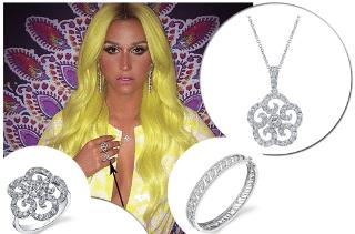 Kesha Rocks Sylvie Jewelry!