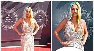 Kesha Wears Sylvie To MTV VMAs!
