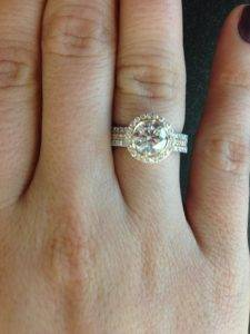 Restyling with an antique or family heirloom gemstone