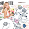 """Bridal Guide"" Magazine Highlights Sylvie's Intricate Floral Inspired Diamond Engagement Ring!"