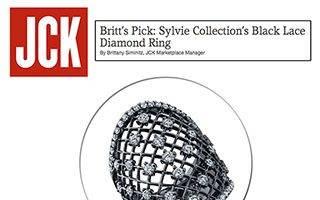 """Sylvie Featured in JCK's """"Britt's Picks""""!"""