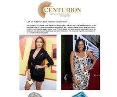 The Centurion Newsletter Features Jennifer Lopez and Tia Mowry Wearing Sylvie's Designer Fashion Rings!