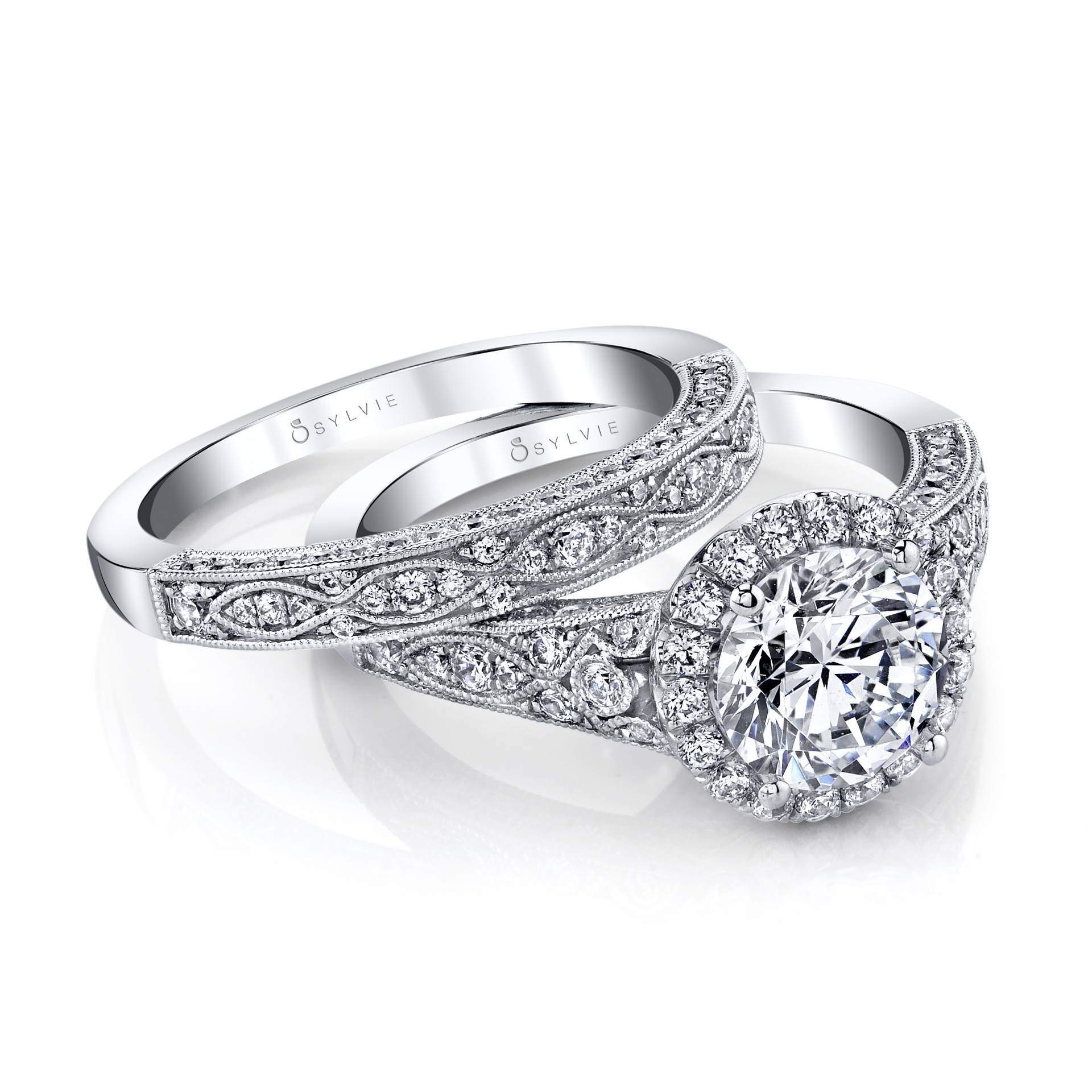 d460ed2f9 Vintage Engagement Rings | Sylvie Collection
