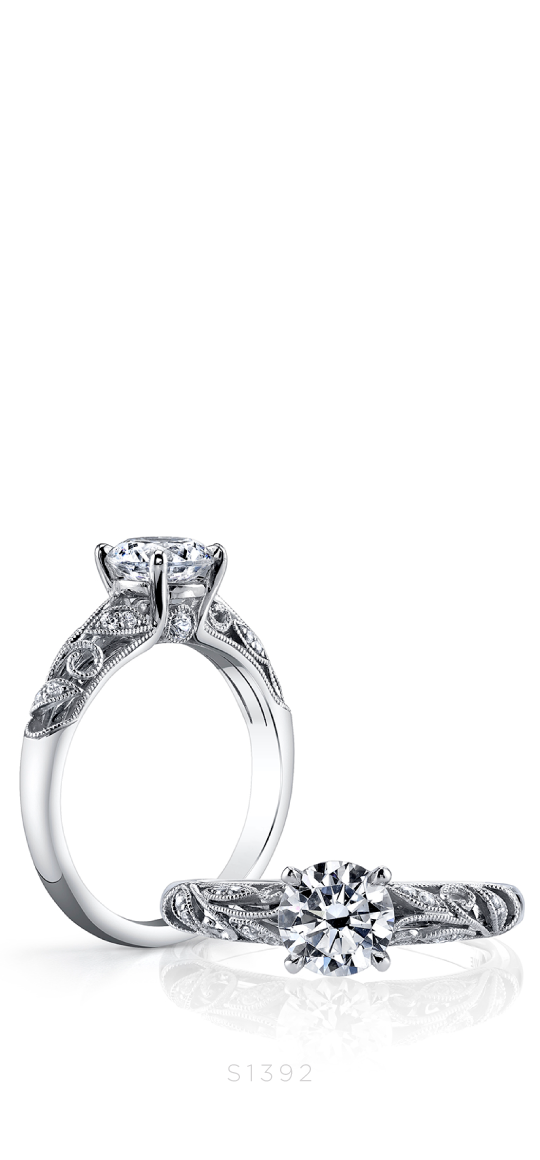 Roial – Vintage Inspired Engagement Ring