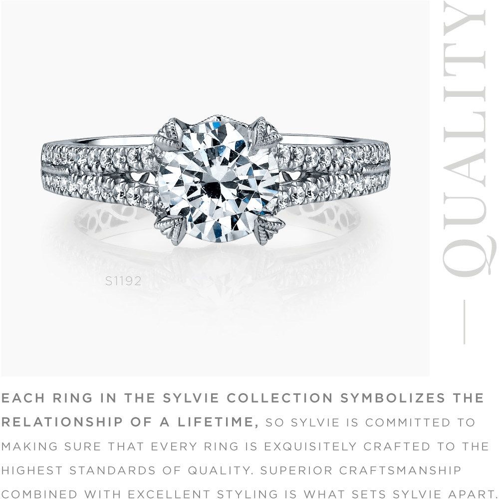 Sylvie Collection Quality Ring