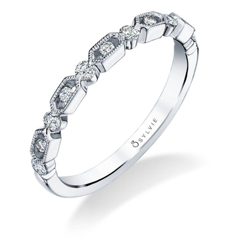 Curved Wedding Band - BSY126