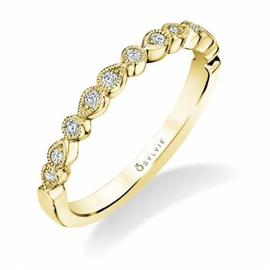 Elena – Versatile Yellow Gold Wedding Band