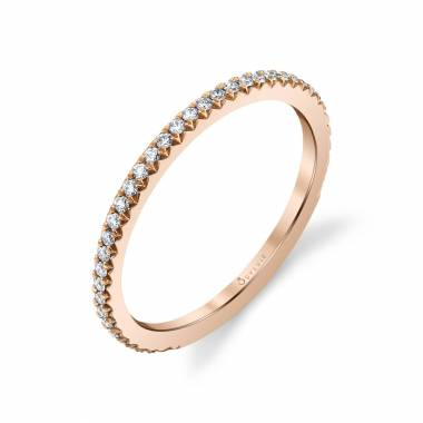 Classic Rose Gold Wedding Band