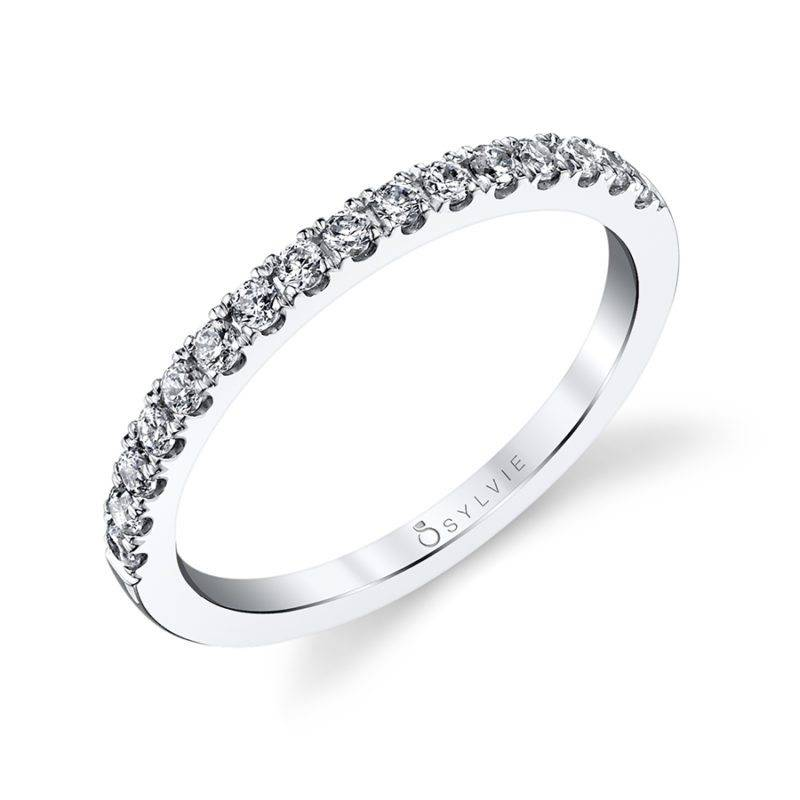Classic Curved Wedding Band - BSY260