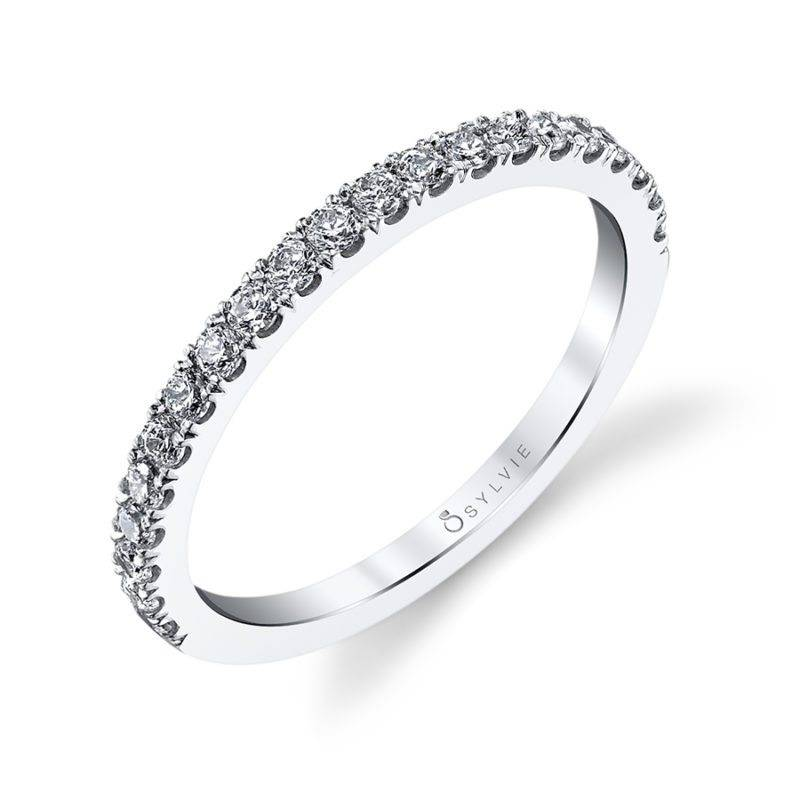 Classic Wedding Band with Milgrain Accents - BS1079