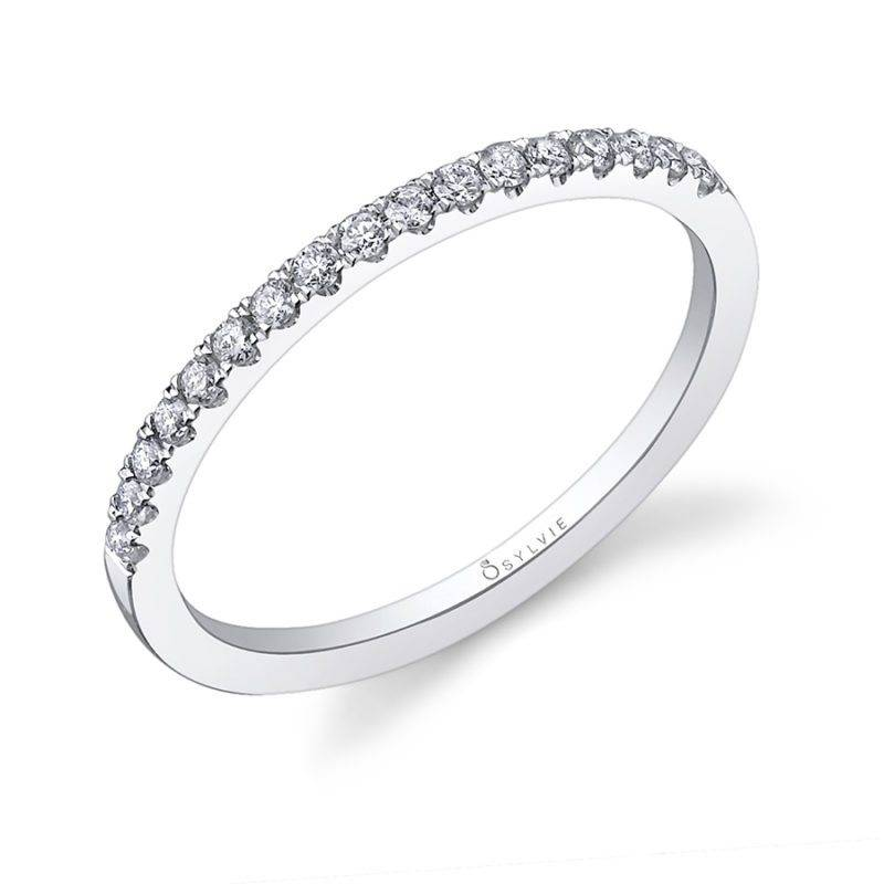 Classic Wedding Band with Milgrain Accents - BS1085
