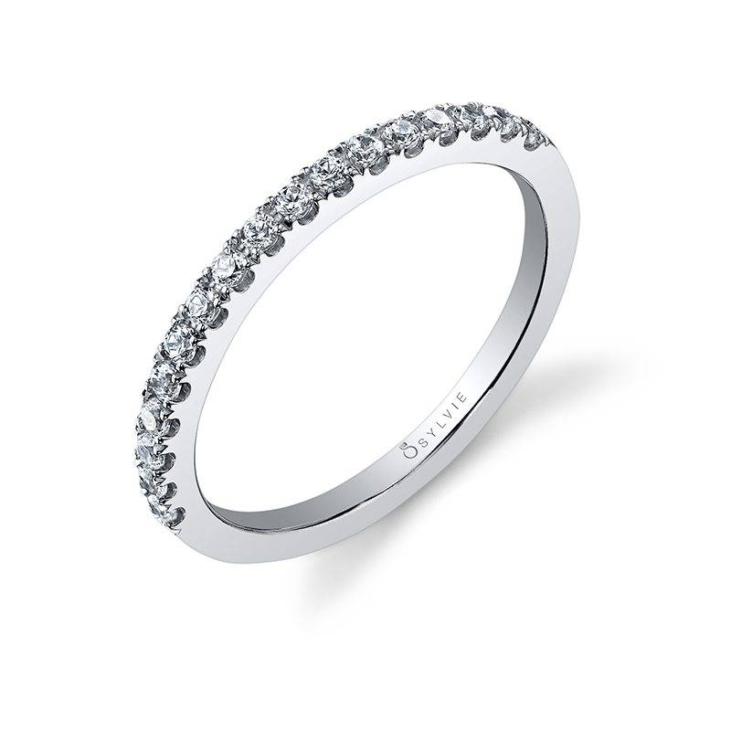 Classic Diamond Wedding Band - BSY999