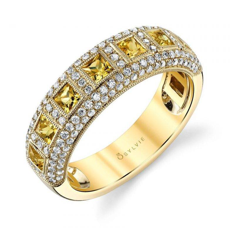 Modern Diamond Fashion Ring - FR556