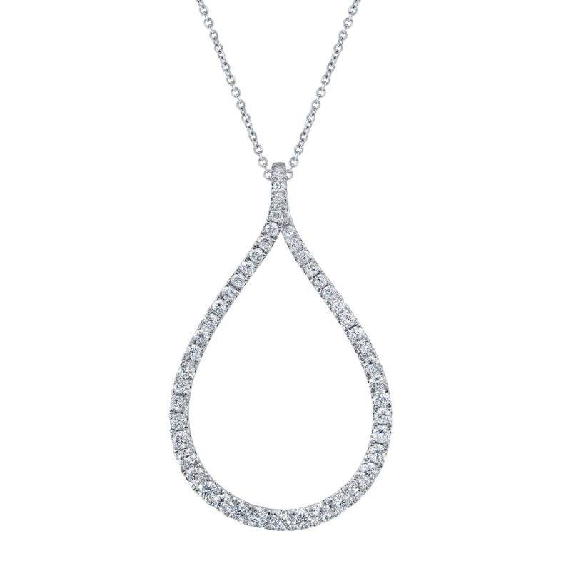 Floral Diamond Pendant - PD535