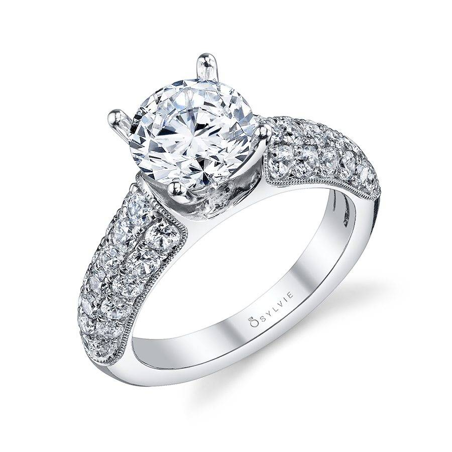 Luna - Classic Solitaire Diamond Engagement Ring - S1127