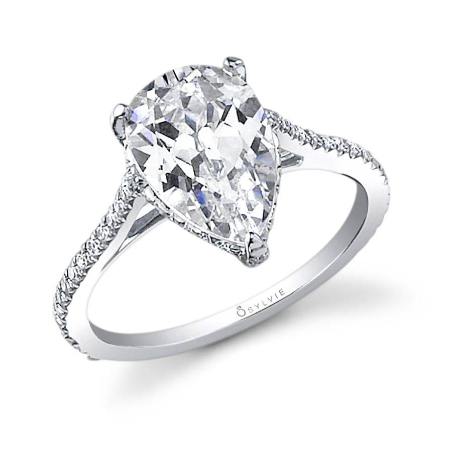 Carina - Round High Polish Solitaire Engagement Ring - SY904