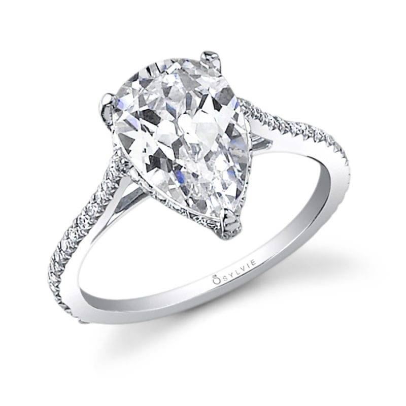 Zoe - Round Solitaire Engagement Ring - SY097
