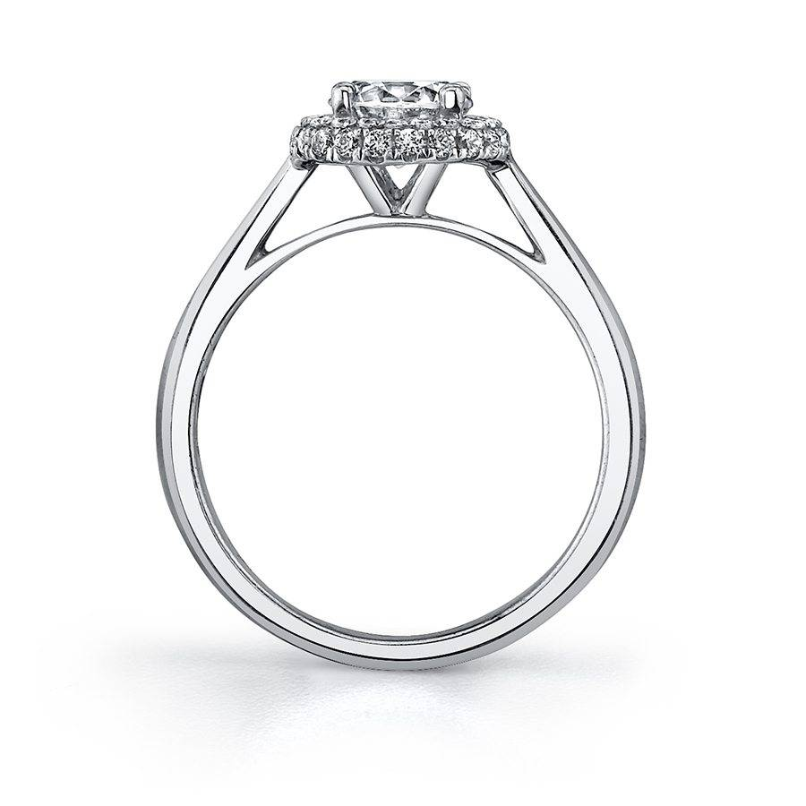 Laurianne - Classic Halo Engagement Ring - SY718