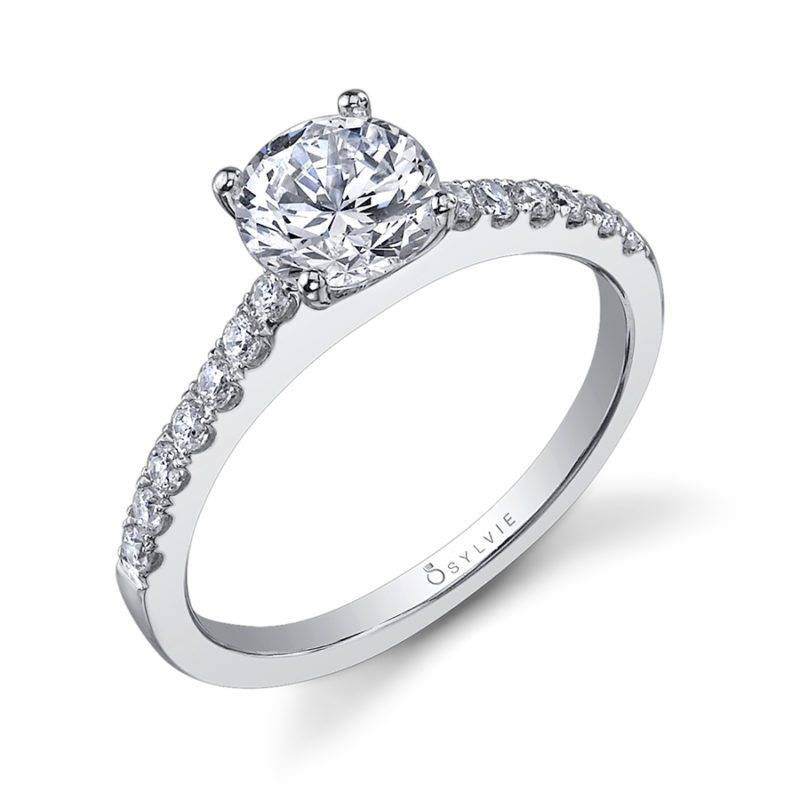 Jennifer - Classic Solitaire Engagement Ring - SY750