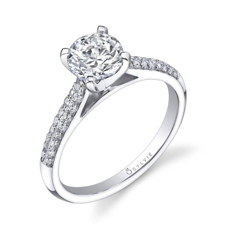 Devynn - Round Solitaire Engagement Ring - SY768