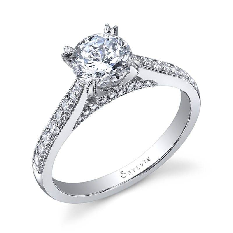 Bellamy - Round Solitaire Engagement Ring - S1513