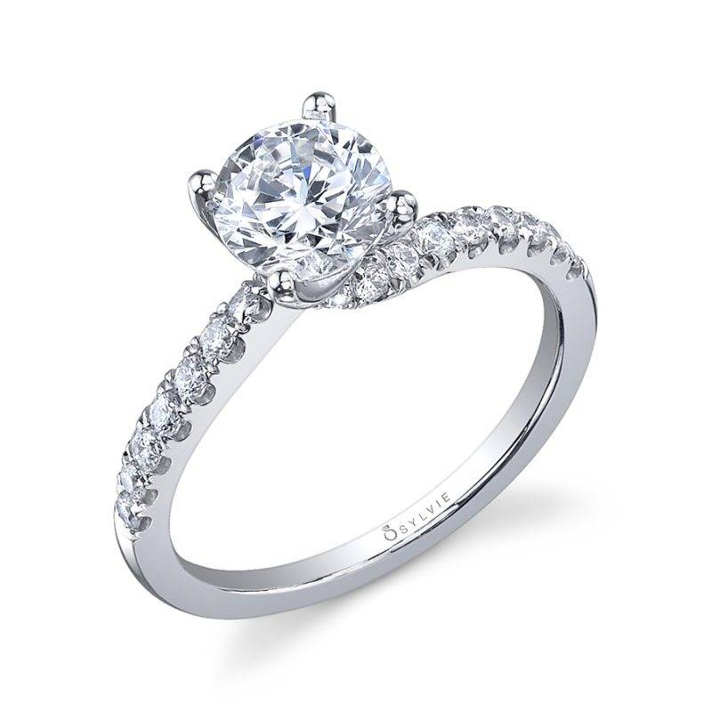Henrietta - Round Solitaire Engagement Ring - SY778
