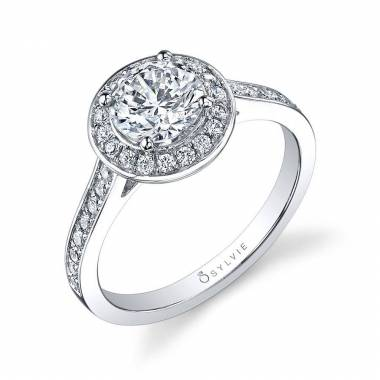 Modern Halo Engagement Ring_SY865-036A4W10R
