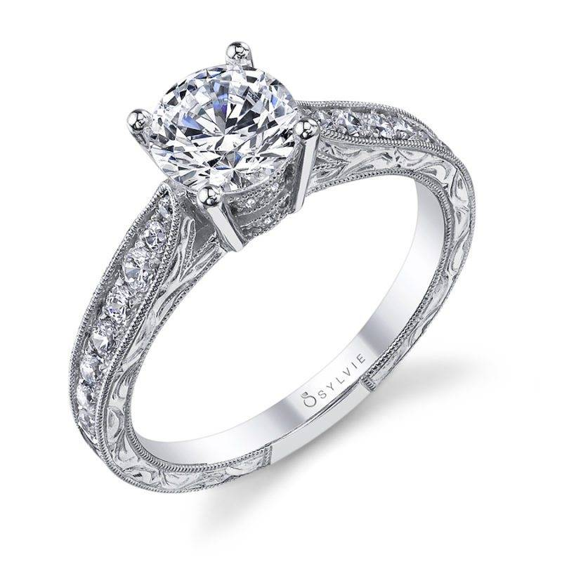 Mirabelle - Vintage Inspired Engagement Ring - S1356