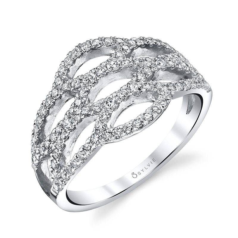 Diamond Marquise Fashion Ring - FR718