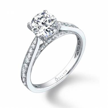Ally - Modern Solitaire Engagement Ring - SY069