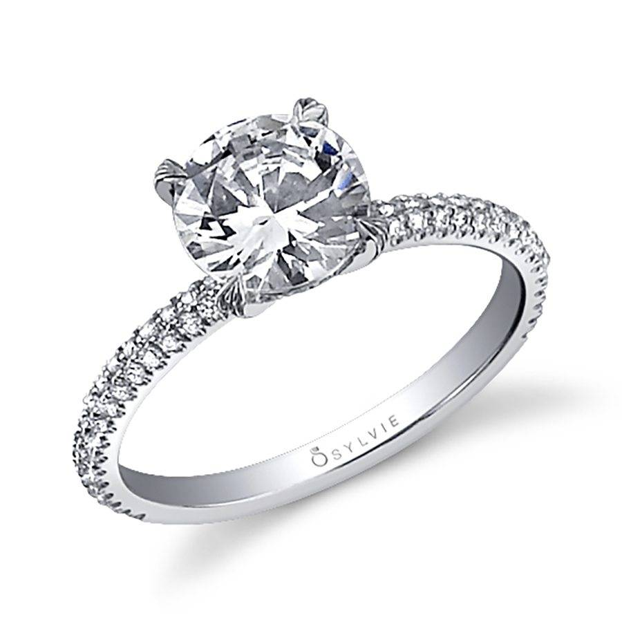 Magalie Classic Solitaire Engagement Ring Sy380 Sylvie