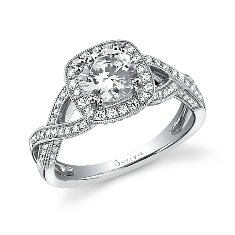 diamond rings wd triple ring ef collection spiral yg engagement products