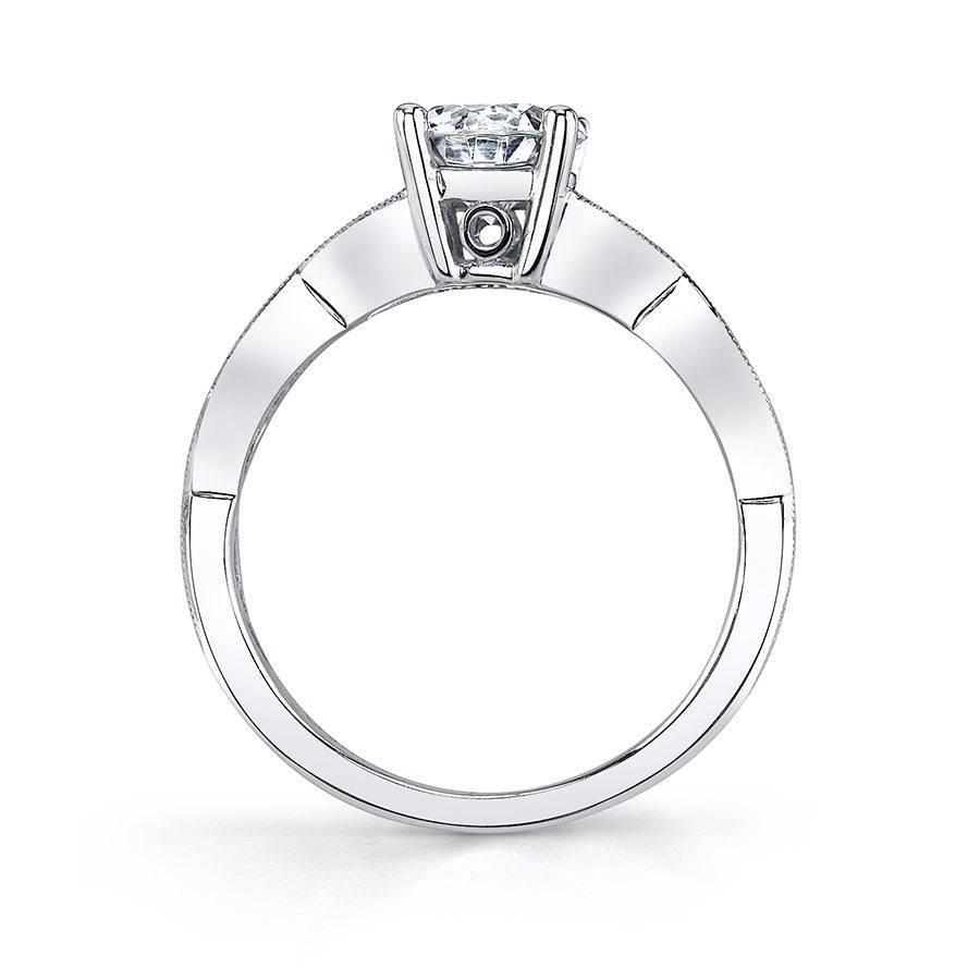 Clarinda - Round Solitaire Engagement Ring - S1014