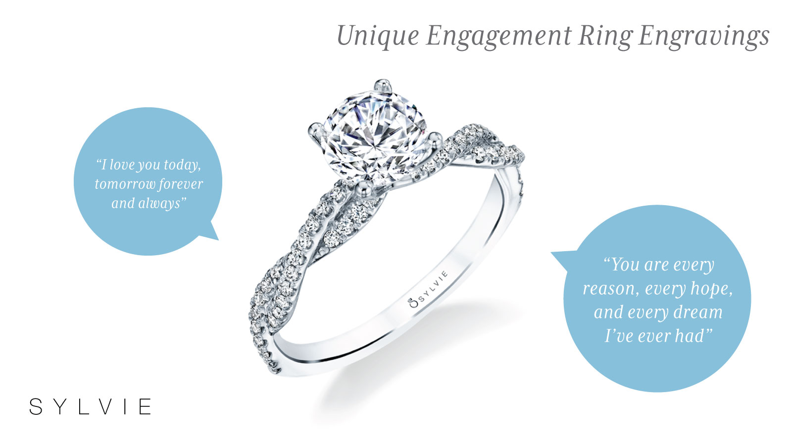 Ideas For Unique Engagement Ring Engravings