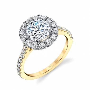 Joanne – Enhanced Halo Engagement Ring Detach