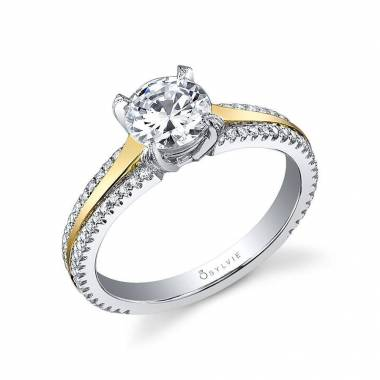 Maryvonne – Modern Solitaire Engagement Ring