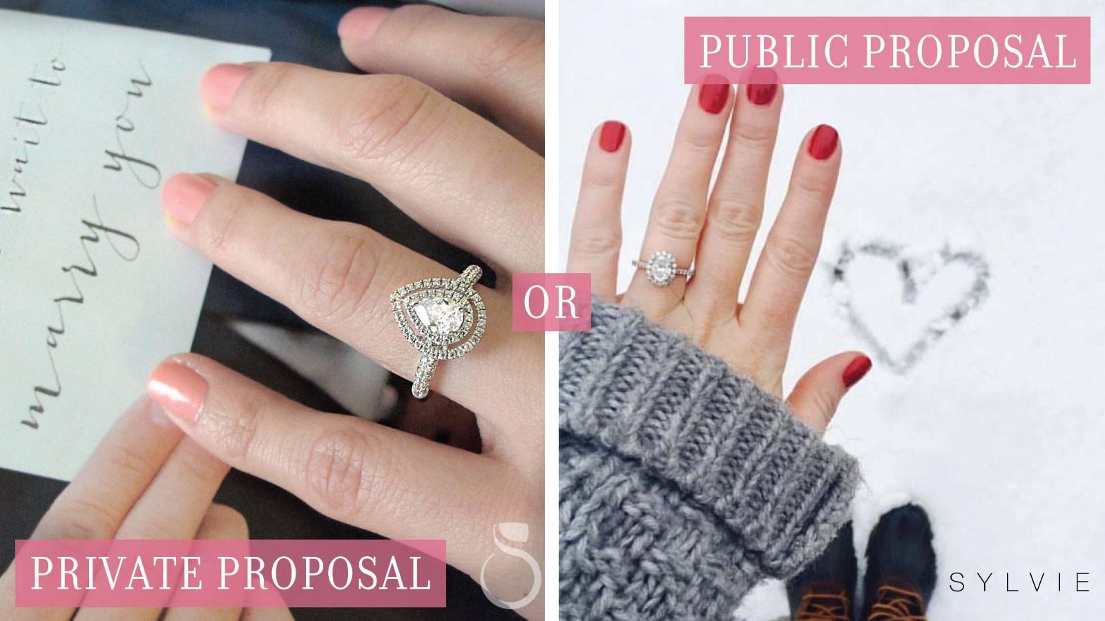 Valentine's Day Proposals: Private or Public?