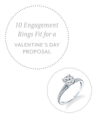 10 Engagement Rings Perfect for a Valentine's Day - Sylvie Collection