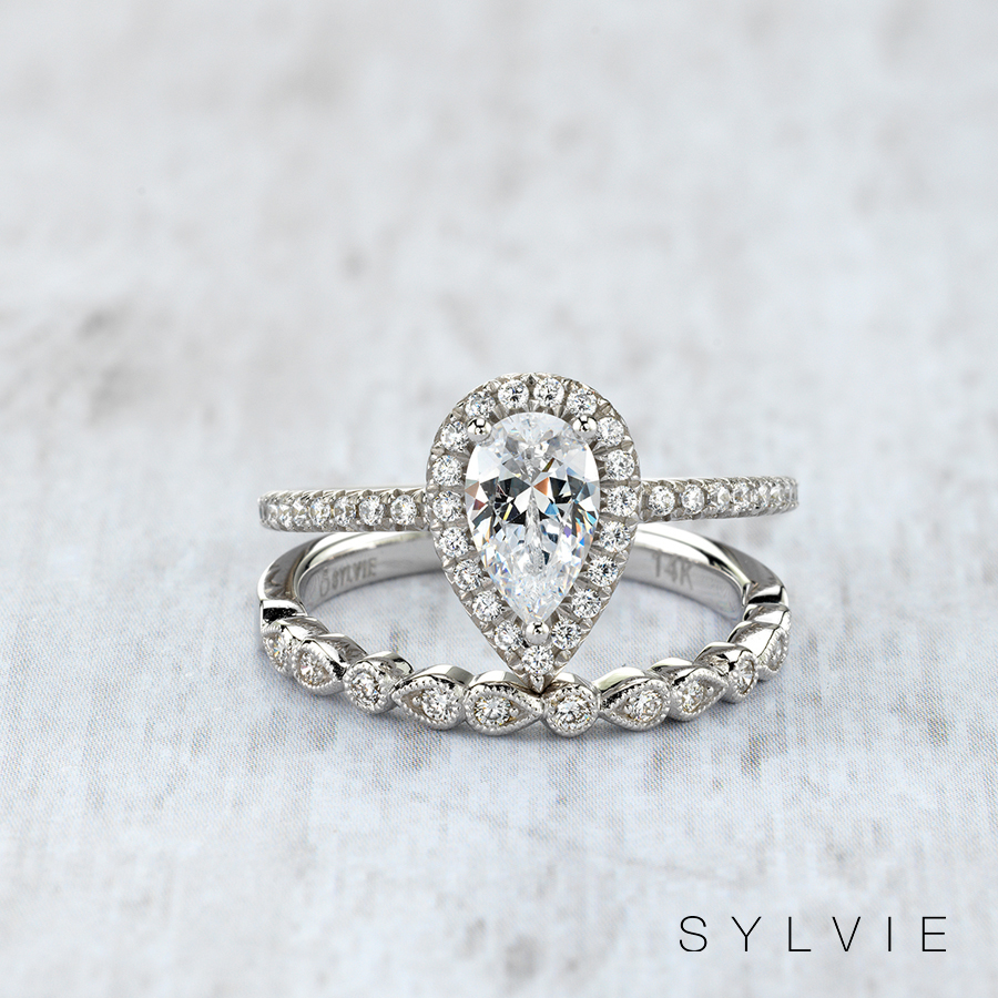 97559e568e8f8 Our Top 3 favorite Stackable Band and Engagement Ring Sets! | Sylvie