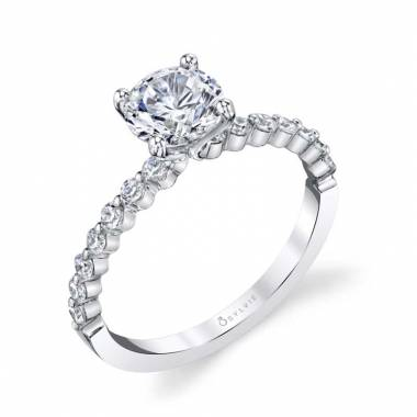 Érika - Classic Solitaire Engagement Ring - SY815