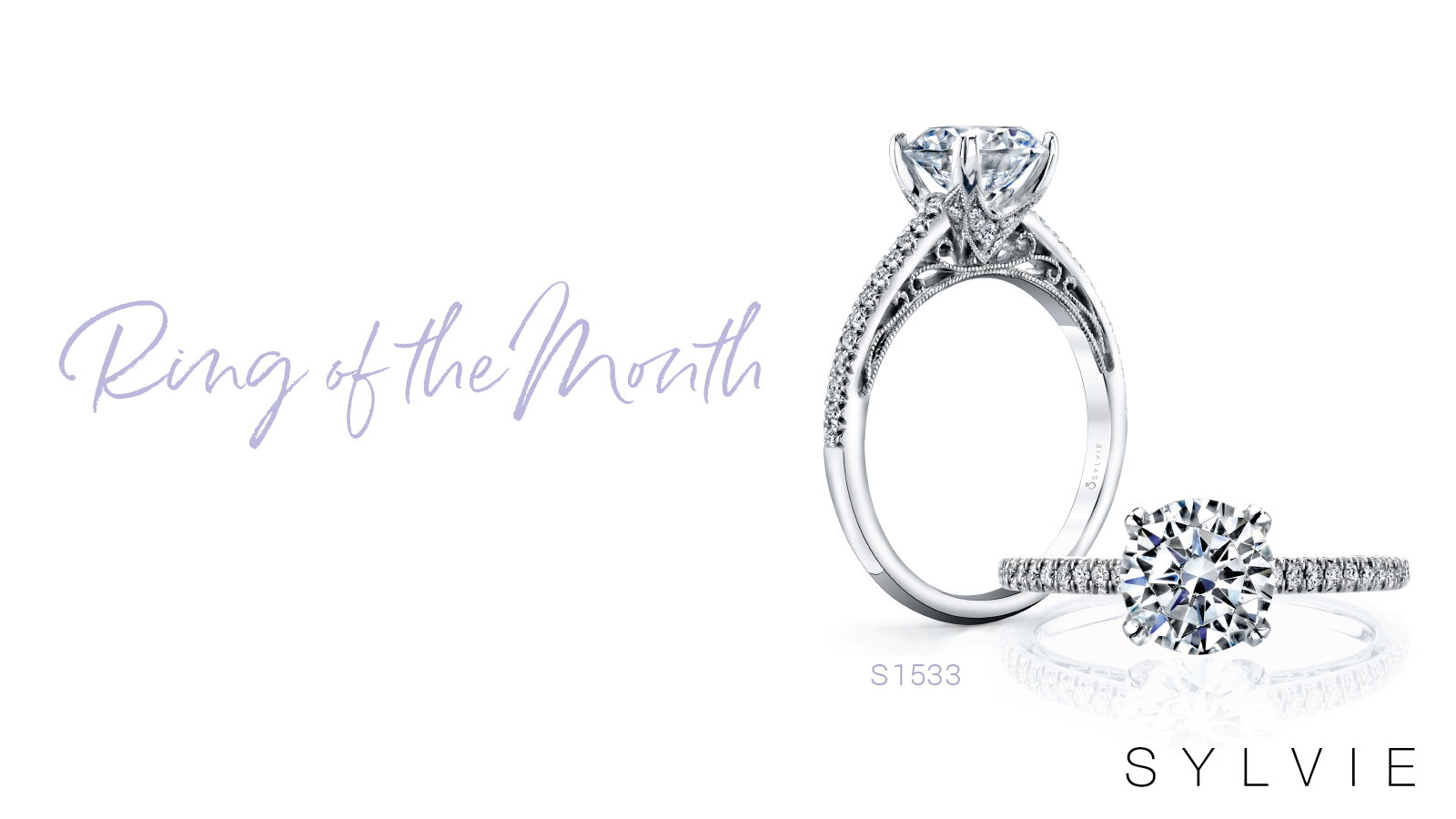 Sylvie's Ring of the Month - Classic Solitaire Engagement Ring