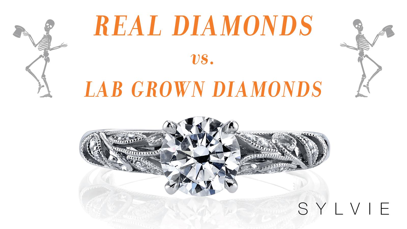 Real Diamonds vs Lab Grown Diamonds - Sylvie