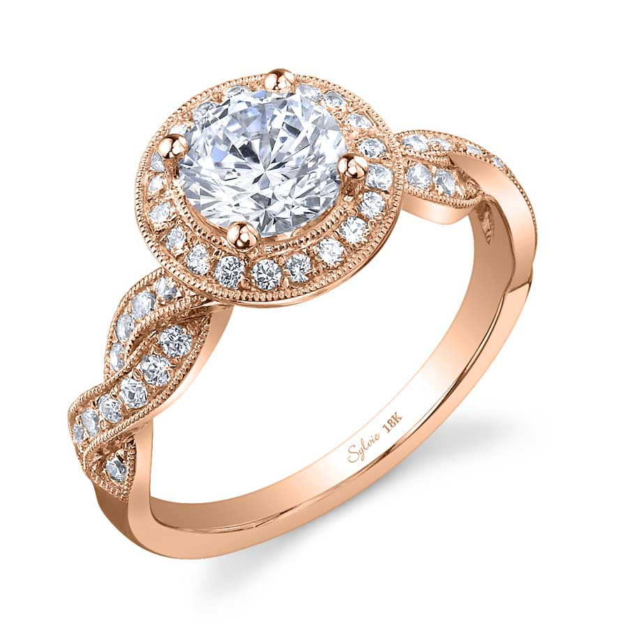 Spiral Engagement Ring with Halo_SY897-036A4W10R