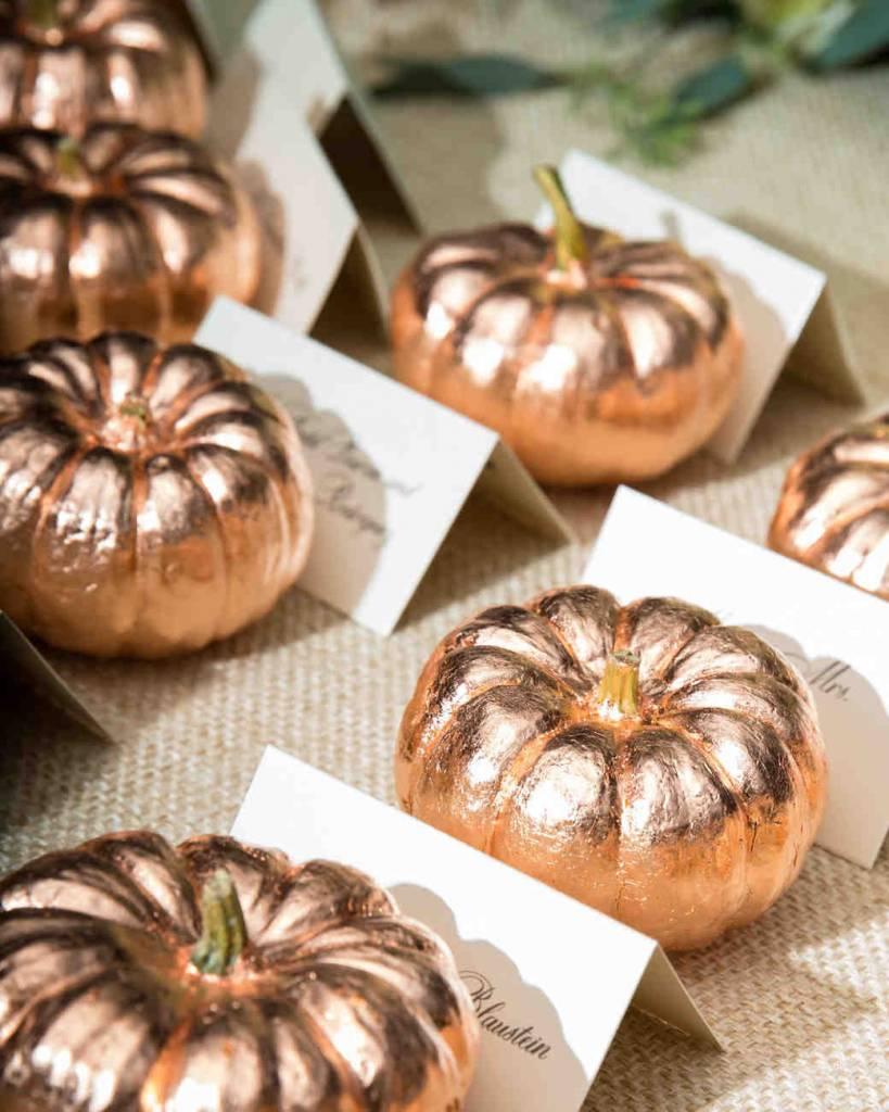 pumpkin table cards