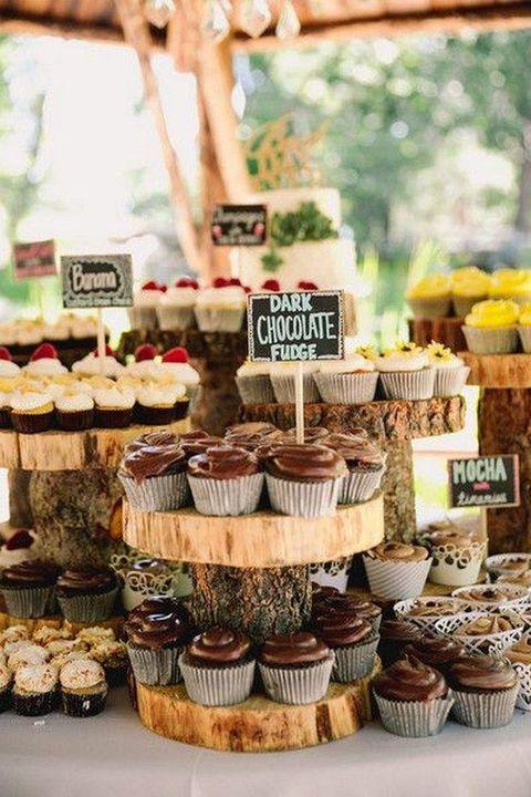 cupcake wedding bar