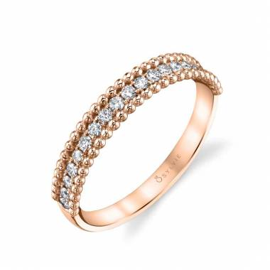 beaded stackable band
