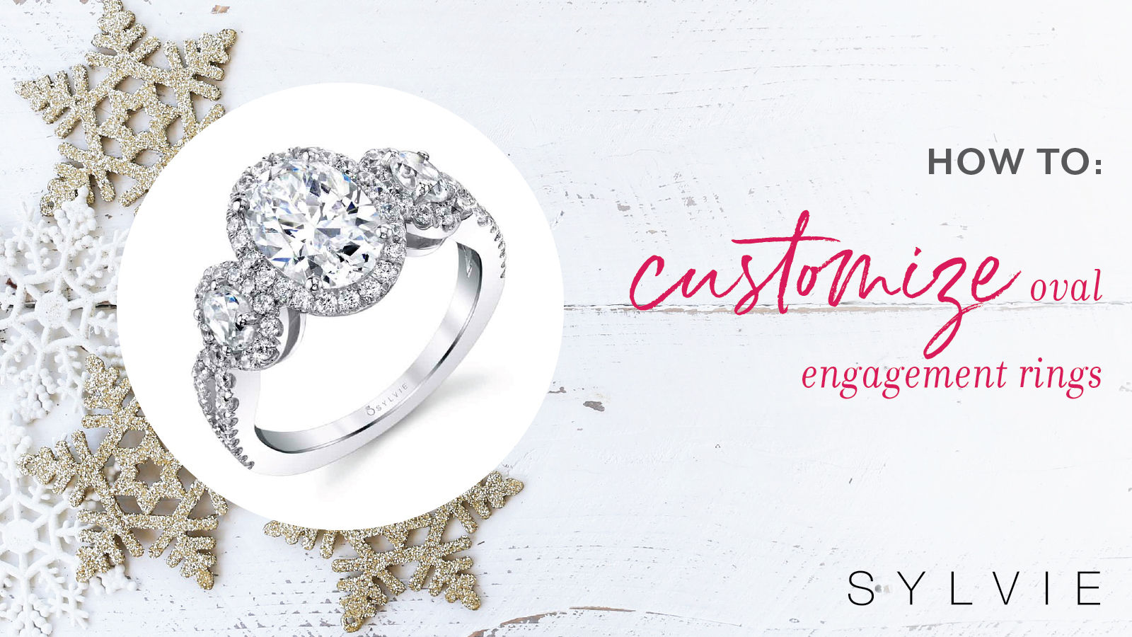 How to Customize Oval Engagement Rings