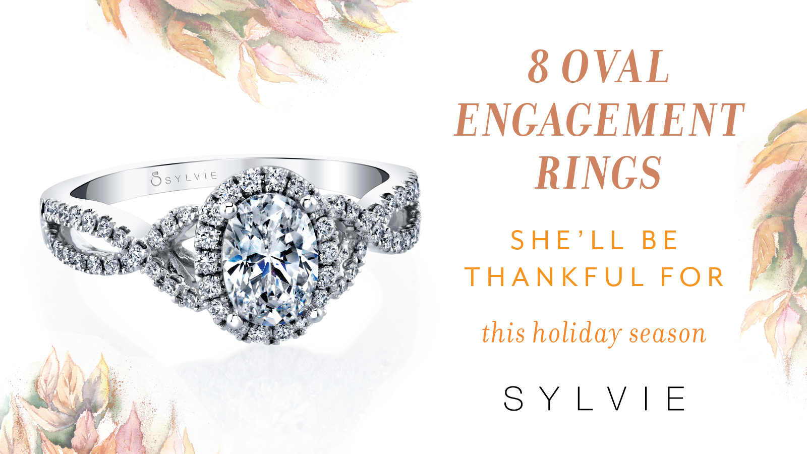 8 Oval Engagement Rings she'll be thankful for this holiday season