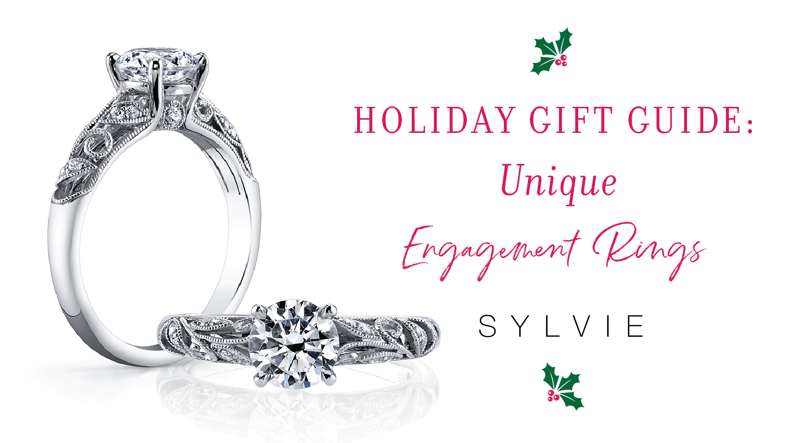 Holiday Gift Guide: Unique Engagement Rings